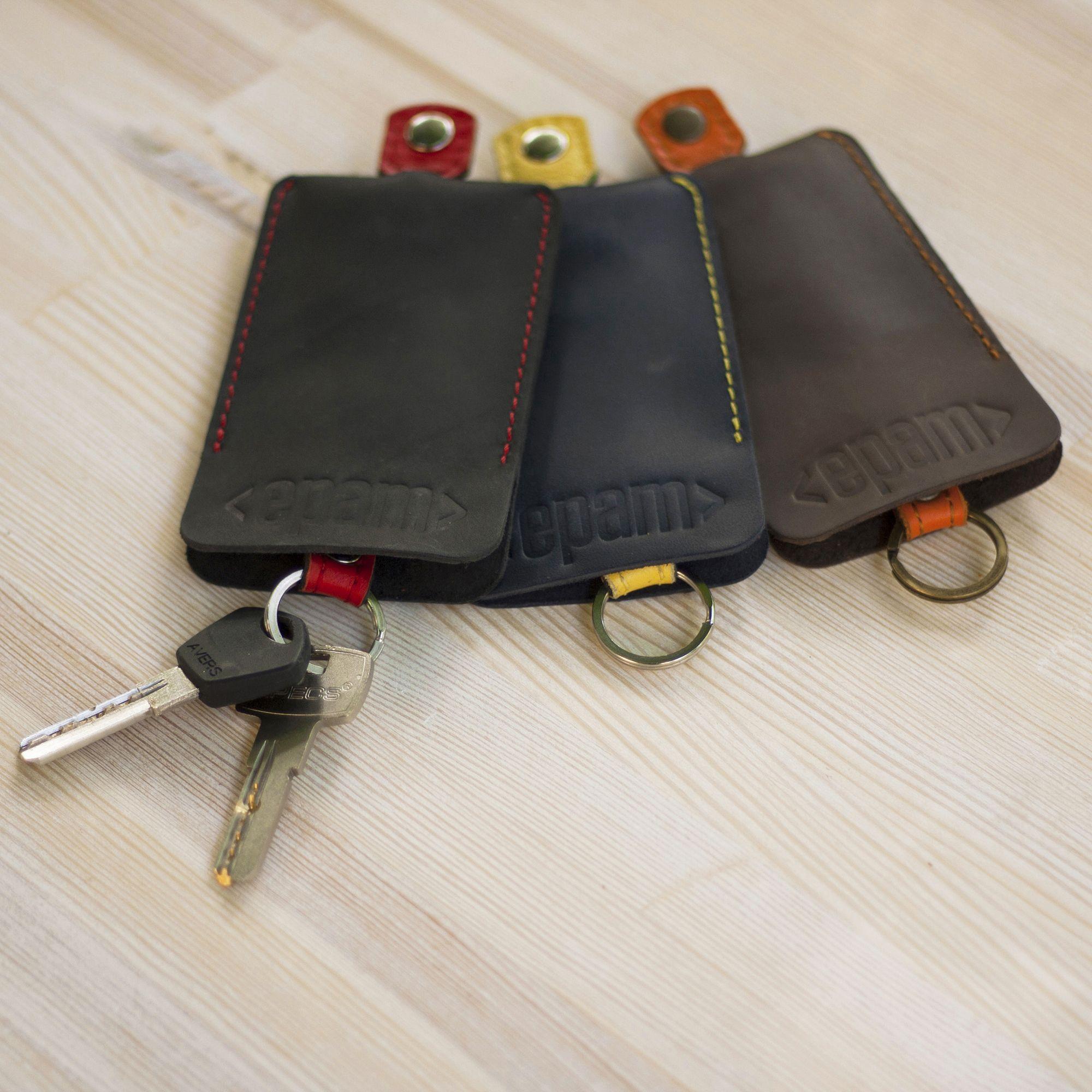 кожаные ключницы Бланкнот