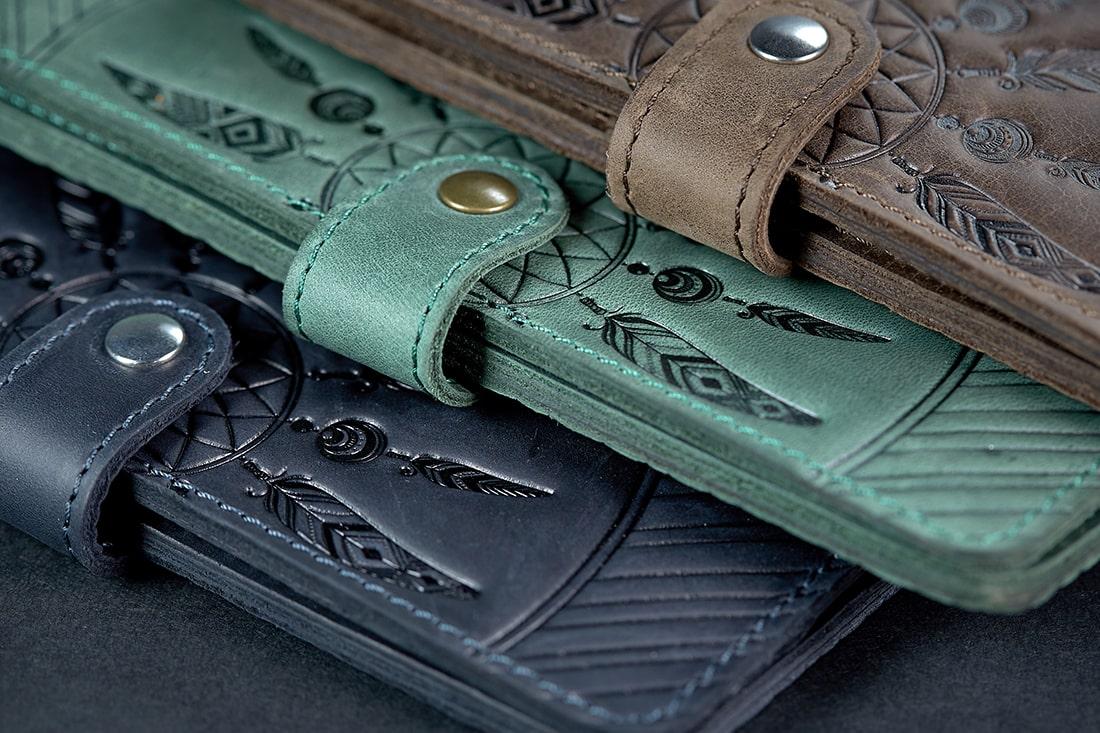 Обработка торцов кожаных изделий