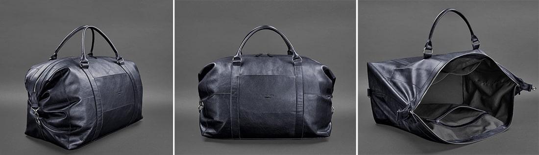 BlankNote кожаная дорожная сумка