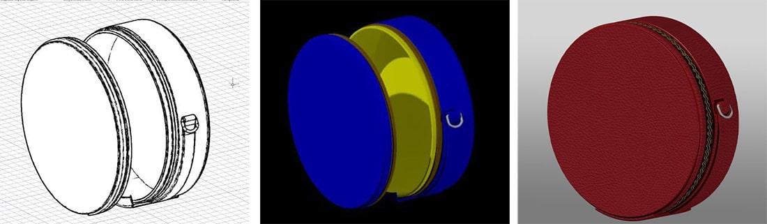 этап векторной 3-d визуализации