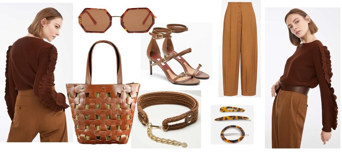 образ с коричневой сумкой