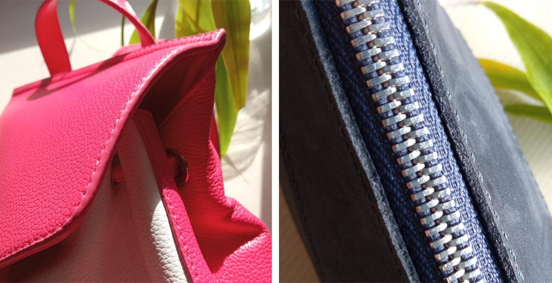 как отличить натуральную кожу от искусственной при выборе сумки