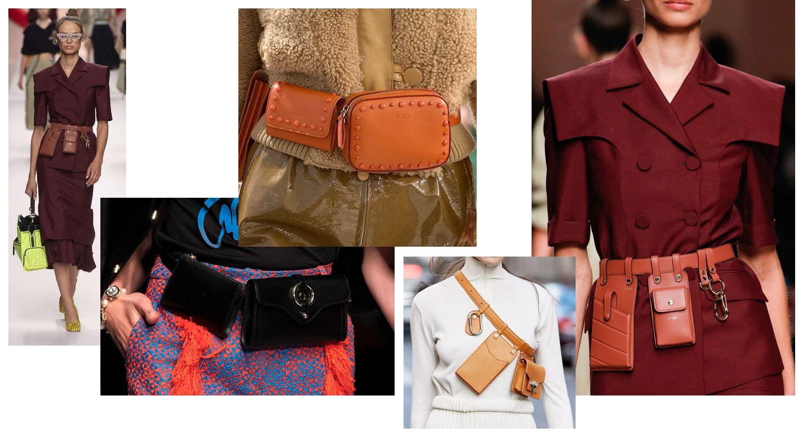 поясные сумки Fendi, Louis Vuitton