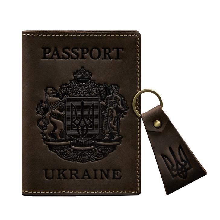 Обложка на паспорт с гравировкой