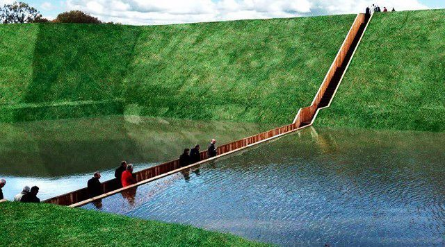 Мост Моисея в Нидерландах фото