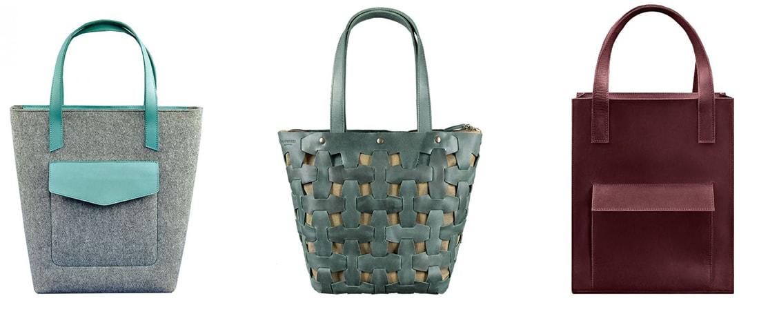 виды шопперов, виды сумок