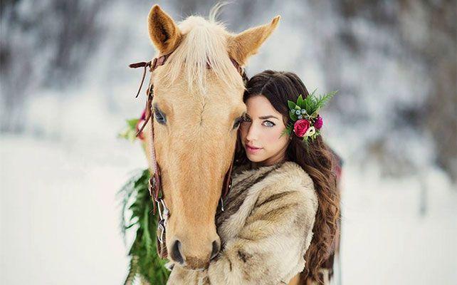 подарок на новый год - катание на лошадях