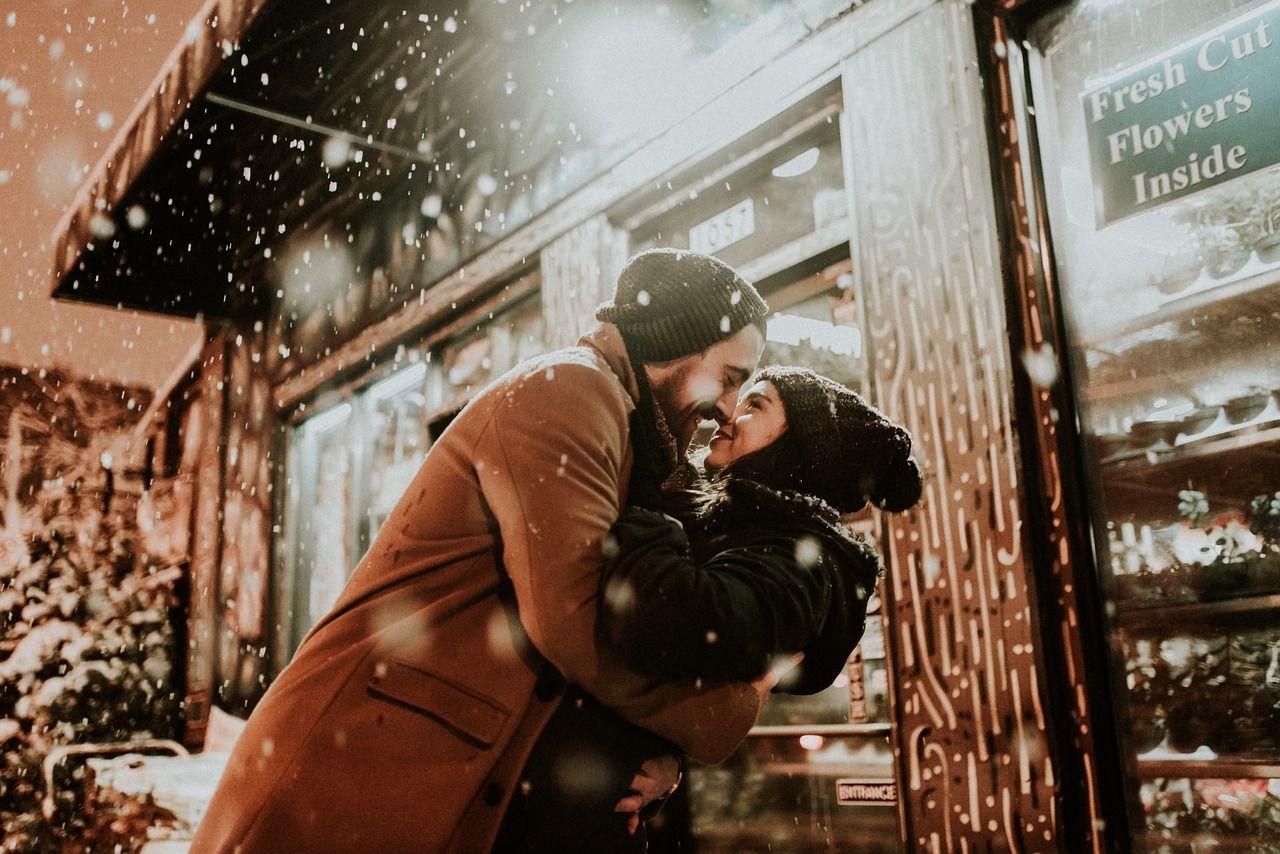 подарок - романтическое свидание на новый год