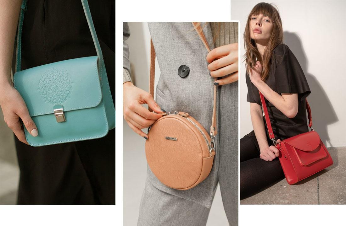 Яркие цветные сумочки тренды 2021