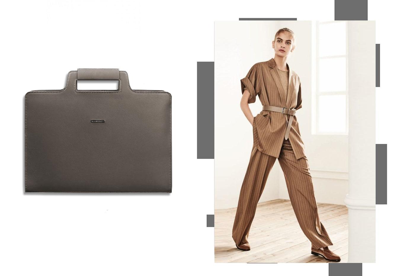 Женская сумка для ноутбука и документов мокко - бежевая - BN-BAG-36-beige