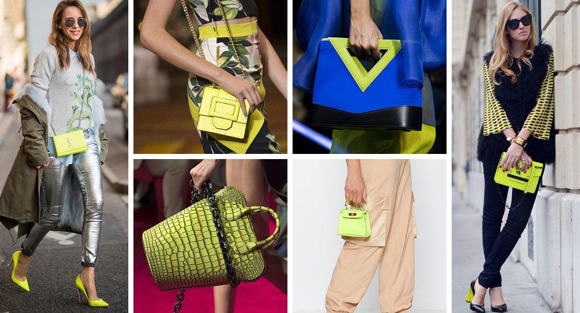 яркие сумки 2019