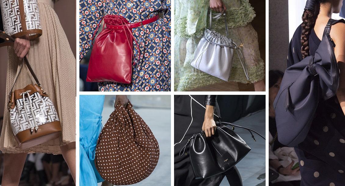 Сумка мешок - тренд 2019 года