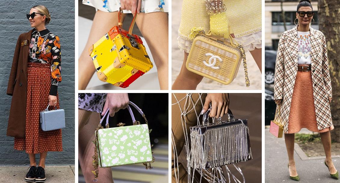сумка сундук - модные сумки 2019 года