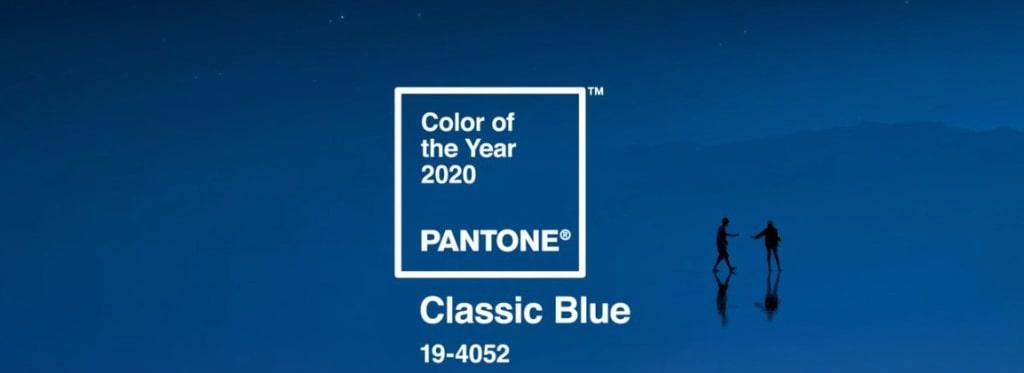 Цвет 2020 года Pantone