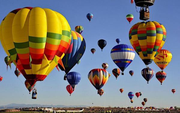 фестиваль воздушных шаров в Каменце