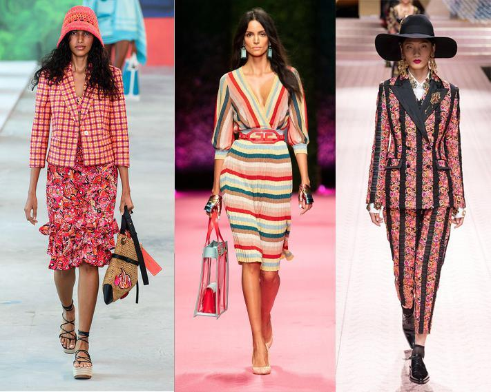 Michael Kors, Elisabetta Franchi, Dolce&Gabbana Весна-лето 2019