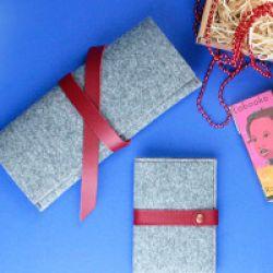 Новая коллекция Фьорд - аксессуары из войлока от BlankNote