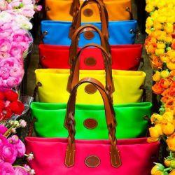 Модный цвет сумок: оттенки родом из природы