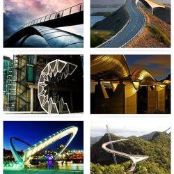 Вдохновляющая подборка самых фантастических мостов мира