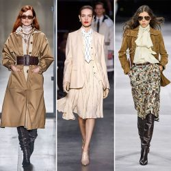 Французский стиль 70-х в осенне-зимних коллекциях 2019/2020