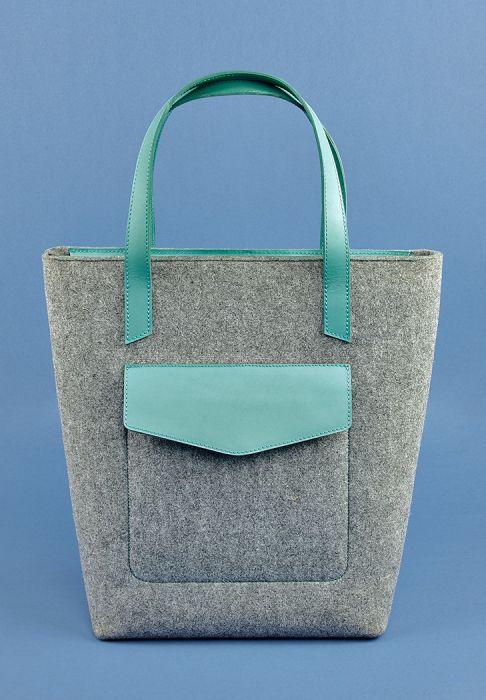 Фетровая сумка