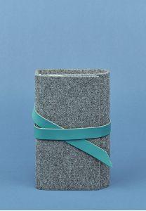 Кожаный блокнот (Софт-бук) 1.0 фетр тиффани