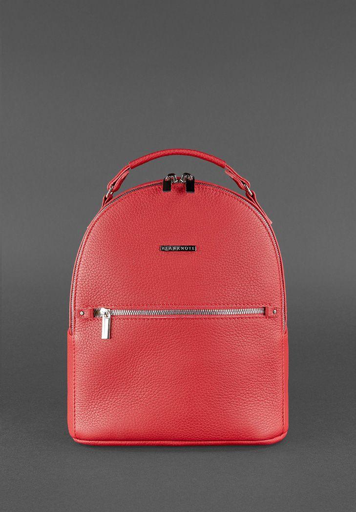 932339bc18c2 Кожаный мини-рюкзак Kylie рубин (BN-BAG-22-rubin) купить в Киеве ...