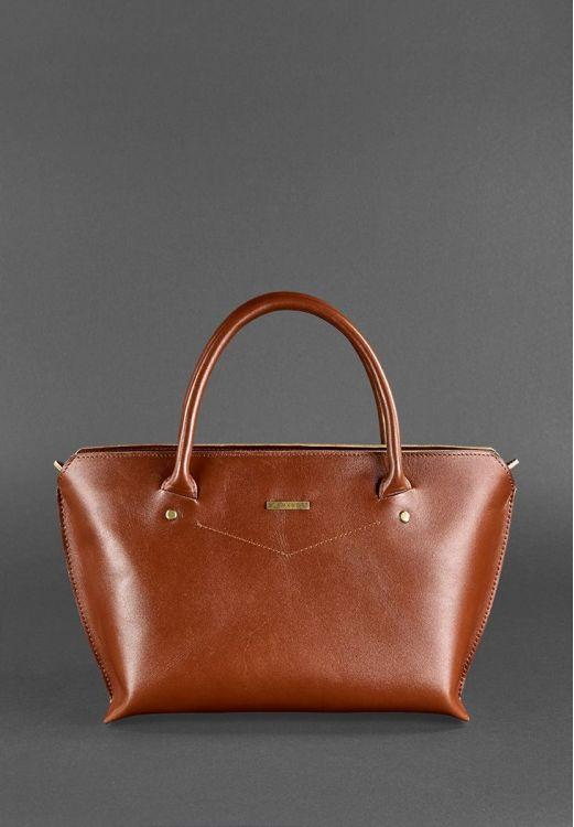 Фото Женская сумка Коньяк BlankNote