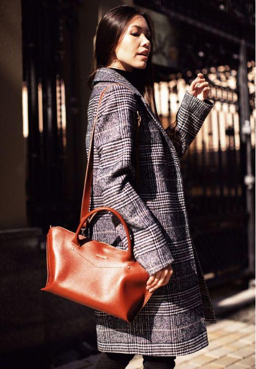 Фото Женская сумка Midi Коньяк BlankNote