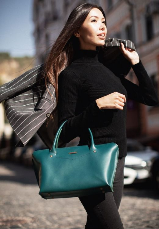 Фото Женская сумка  Midi  Малахит BlankNote