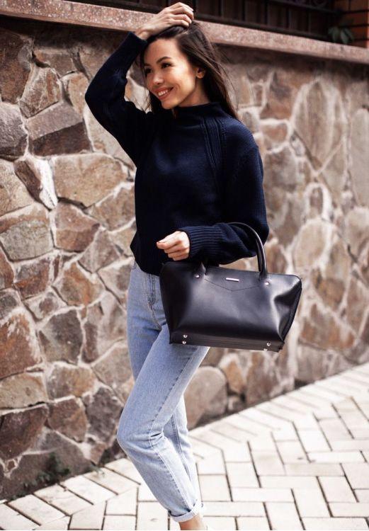 Фото Женская сумка  Midi  Сапфир BlankNote