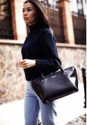 Фото Жіноча сумка Midi Темно-синій