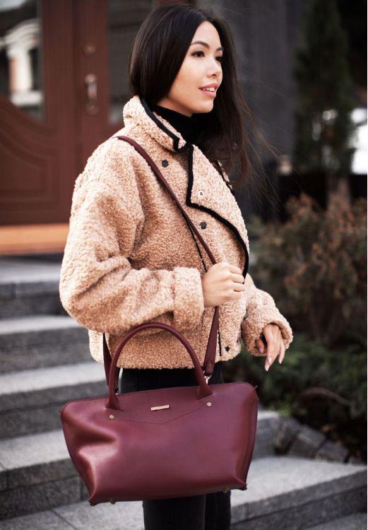Фото Женская сумка  Midi  Виноград BlankNote