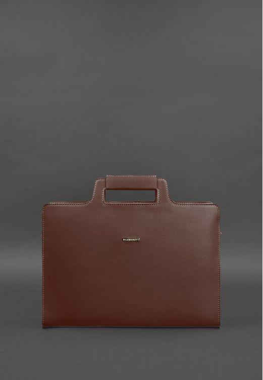 Фото Женская сумка для ноутбука и документов виноград - бордовая BlankNote