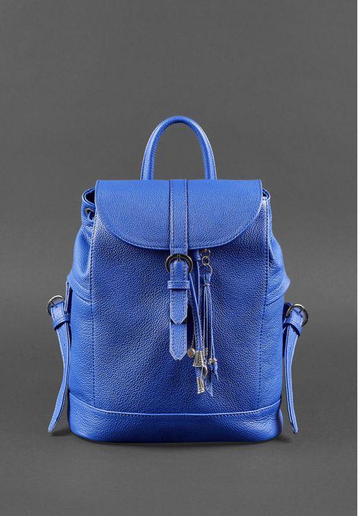Фото Кожаный рюкзак Олсен индиго BlankNote