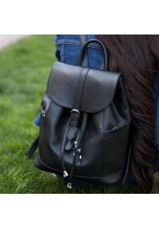 Кожаный рюкзак Олсен оникс + кошелек 2.0!