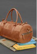 Фото Мужская кожаная сумка Harper Светло-коричневая Crazy Horse
