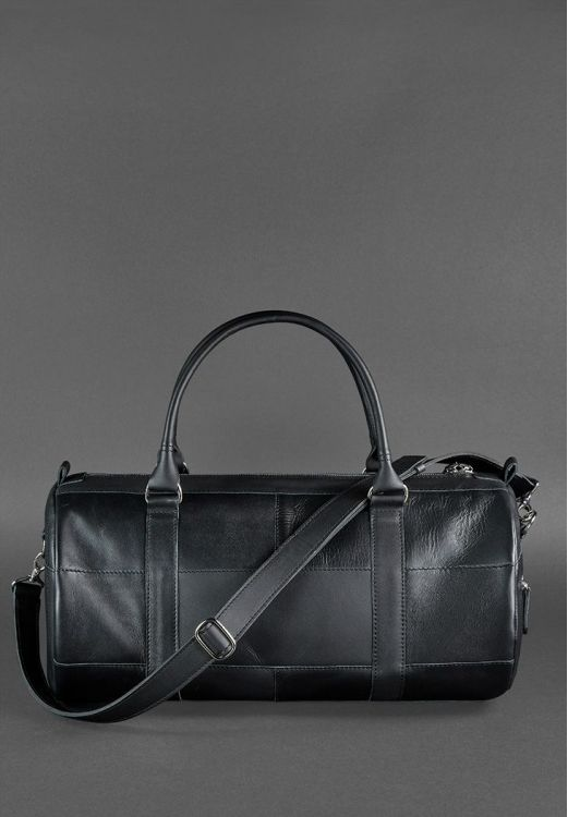 кожаная спортивная сумка