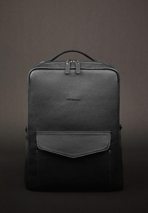 Городской рюкзак на молнии, нуар