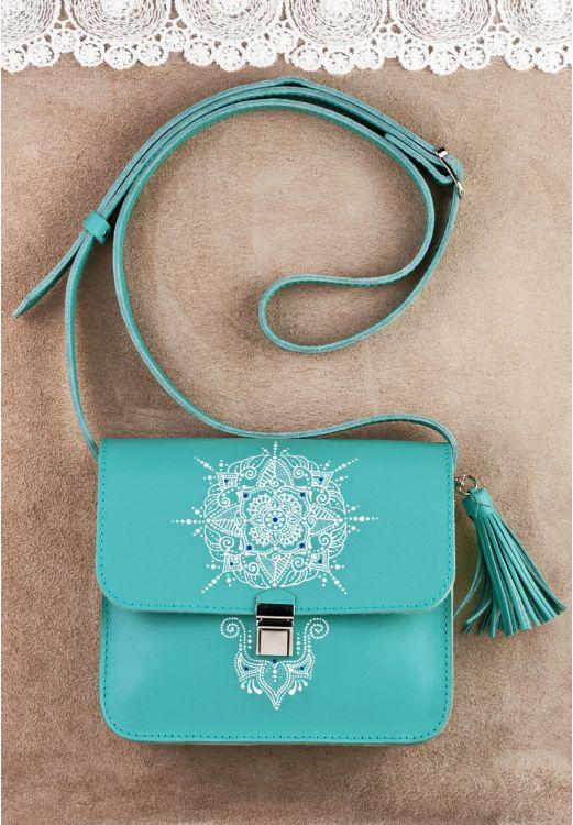 """Фото Бохо-сумка """"Лилу"""" Тиффани с художественной росписью BlankNote"""