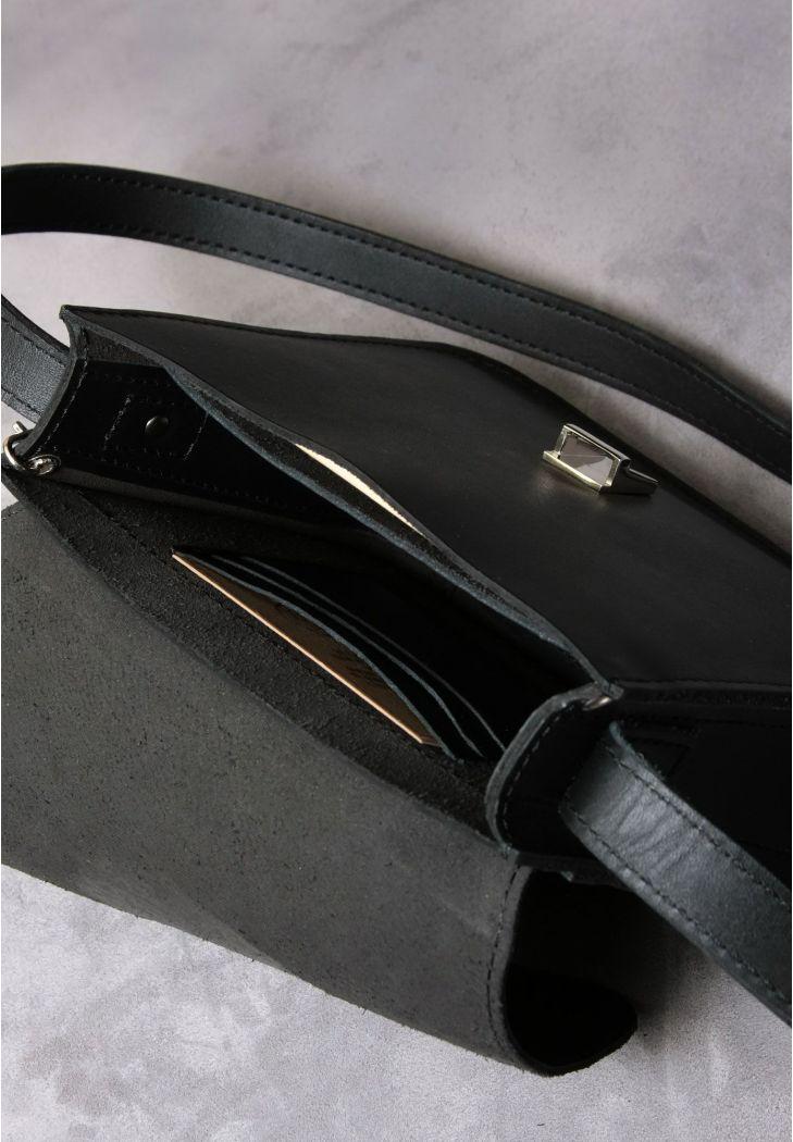 35257e09ebeb Бохо-сумка Лилу черная - графит (BN-BAG-3-g-man) купить в Киеве ...