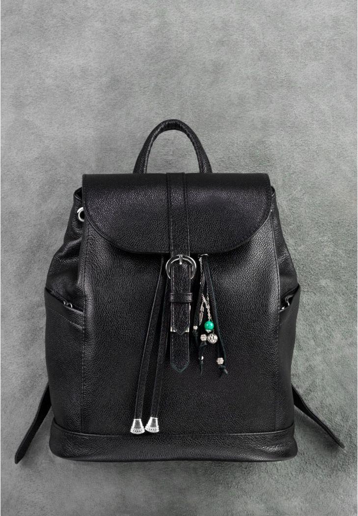 fc949acde681 Фото Кожаный рюкзак Олсен оникс BlankNote Фото Кожаный рюкзак Олсен оникс  BlankNote ...
