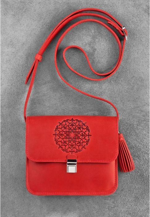 """Фото Бохо-сумка """"Лилу"""" коралл BlankNote"""
