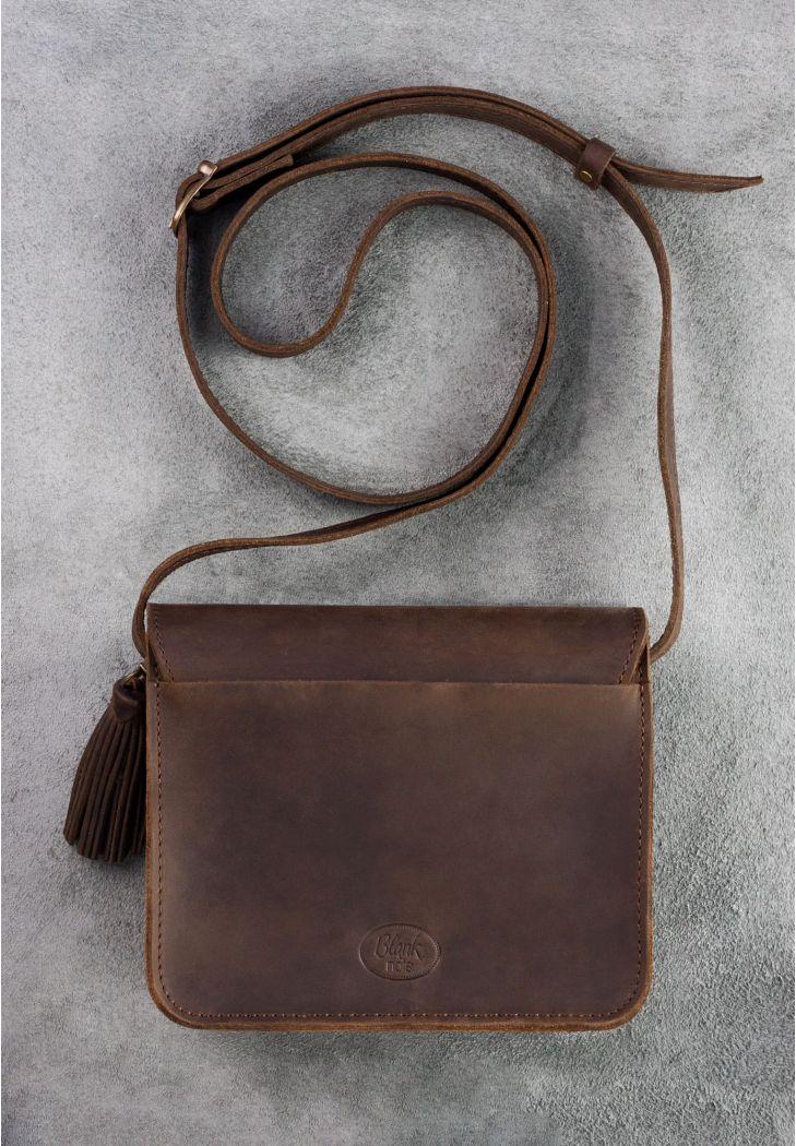 98bf2187c806 Бохо-сумка Лилу коричневая - орех (BN-BAG-3-o-man) купить в Киеве ...