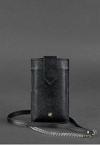 Мини кросс-боди для смартфона Blackwood - черный