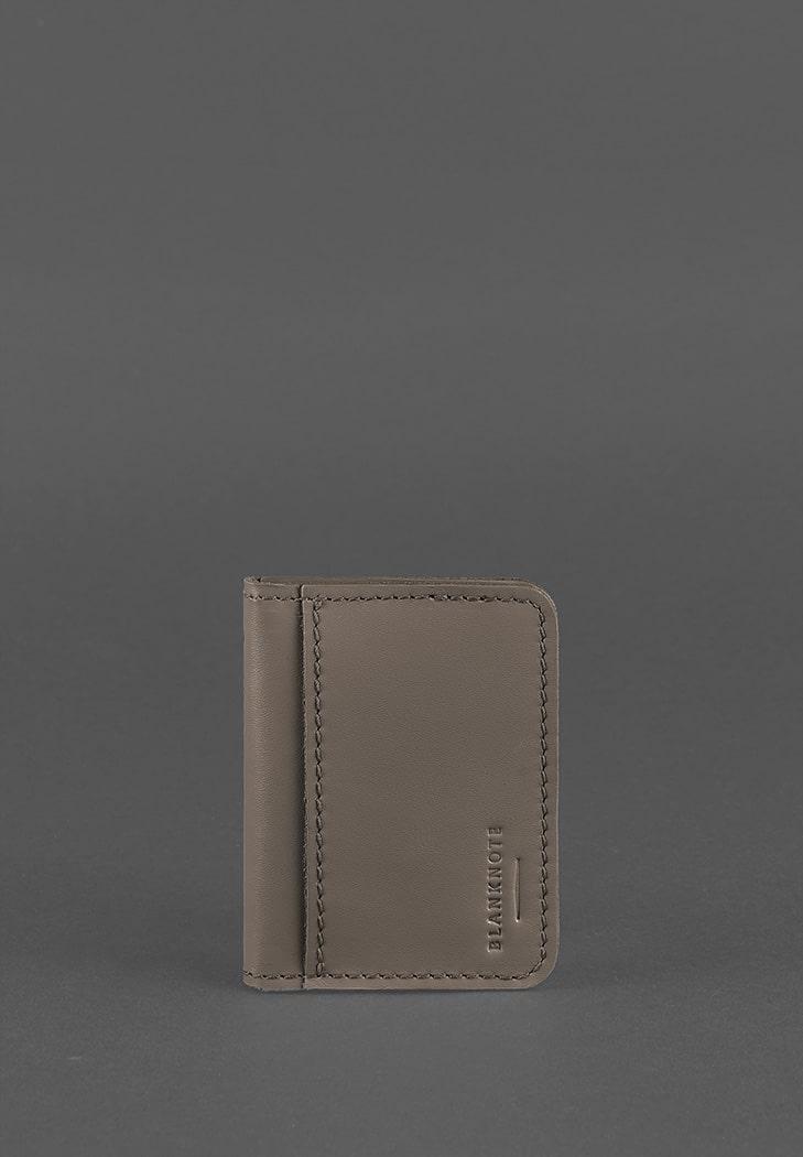 Фото Кожаная обложка для ID-паспорта и водительских прав 4.0 темно-бежевая