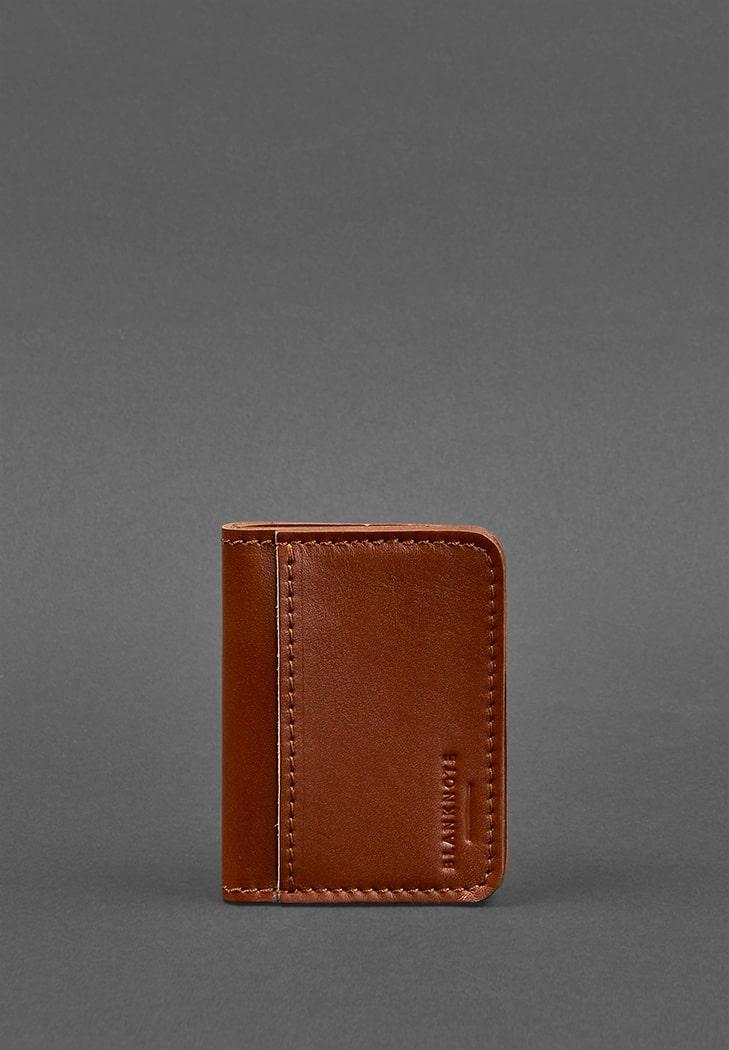 Фото Кожаная обложка для ID-паспорта и водительских прав 4.0 черная