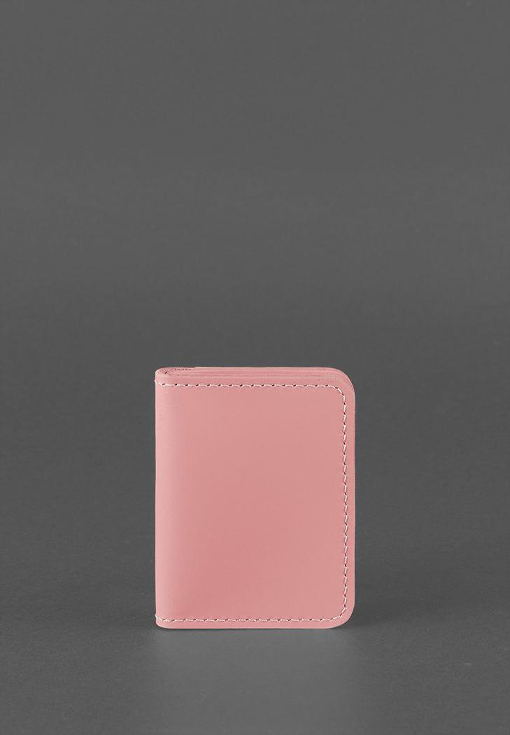 Фото Обложка для водительских прав 4.0 (с окошком) Розовая BlankNote