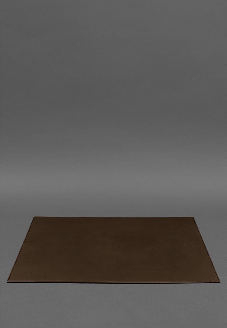 Фото Накладка на стіл керівника - Шкіряний бювар 1.0 шоколад (BN-BV-1-choko)
