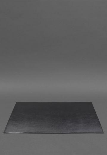 Накладка на стол руководителя - Кожаный бювар 1.0 Черный